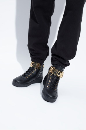 High-top sneakers od Moschino
