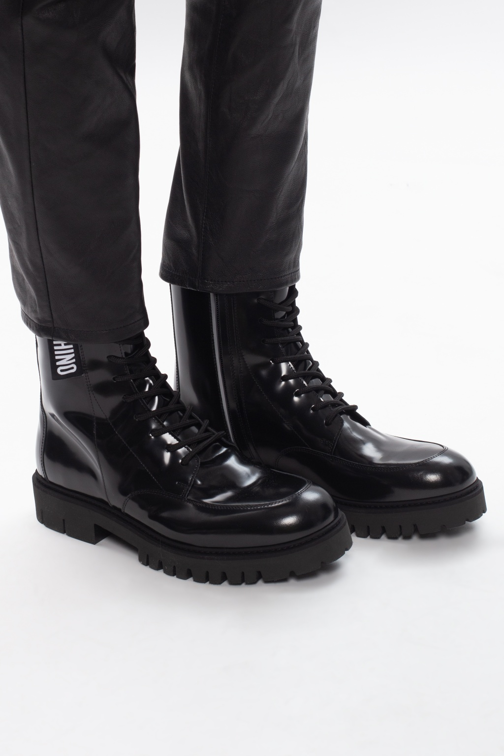 Moschino Leather boots
