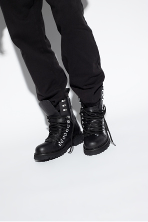 Leather boots od Moschino