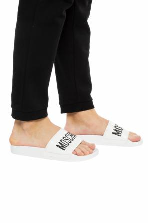 Branded slides od Moschino