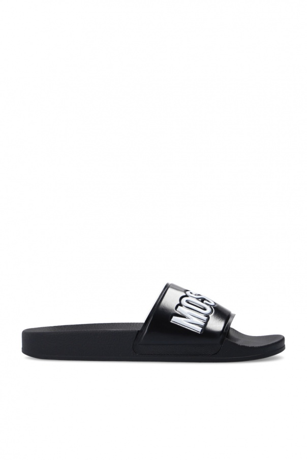 Moschino Rubber slides