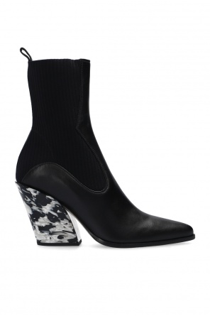 'mele' knitted ankle boots od Jimmy Choo