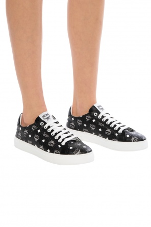 Patterned sneakers od MCM