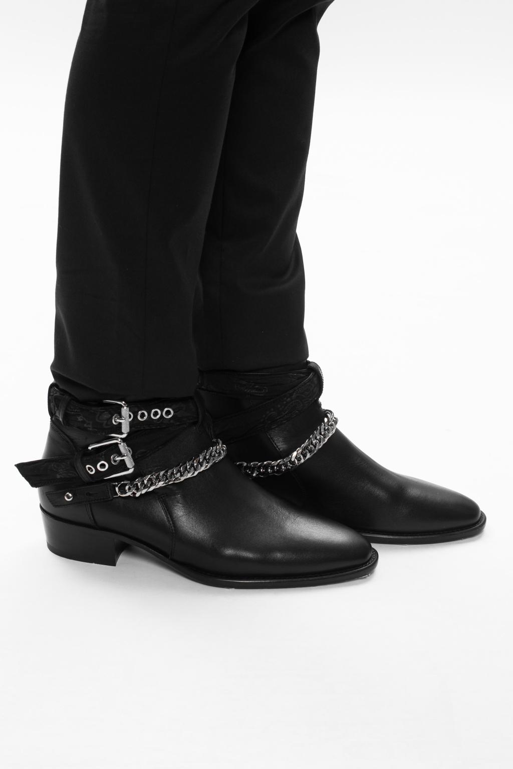 Amiri 'Bandana' ankle boots