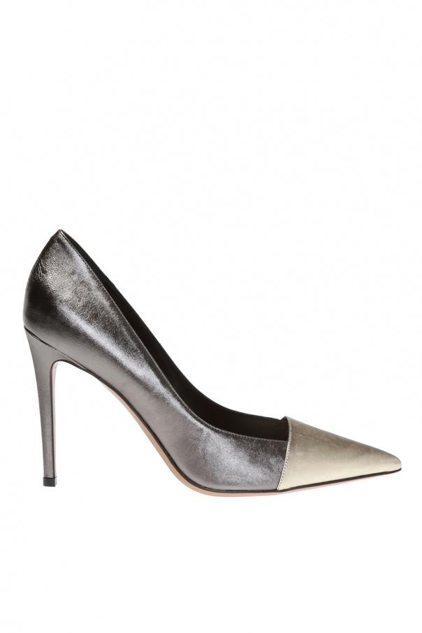 Alexandre Vauthier 'Michelle' leather stiletto pumps