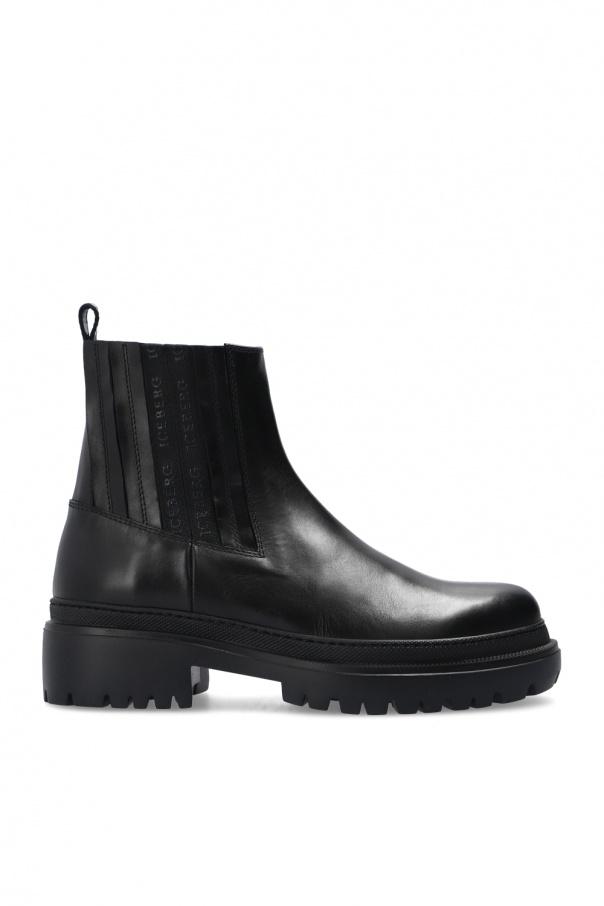 Iceberg Logo ankle boots