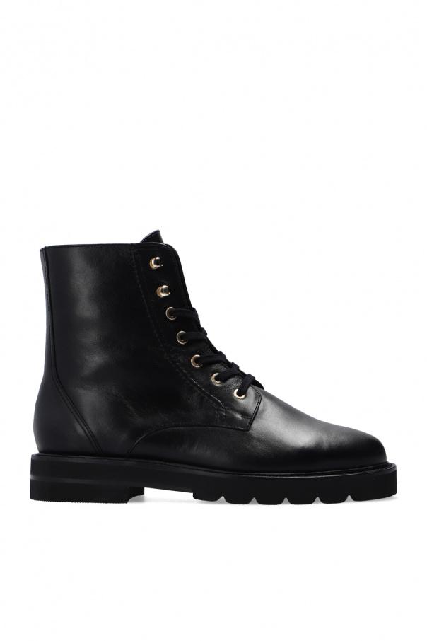 Stuart Weitzman 'Mila' leather ankle boots