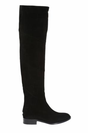 'miller' suede over-the-knee boots od Jimmy Choo
