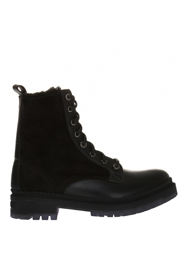 'milo' lace-up boots od Jimmy Choo