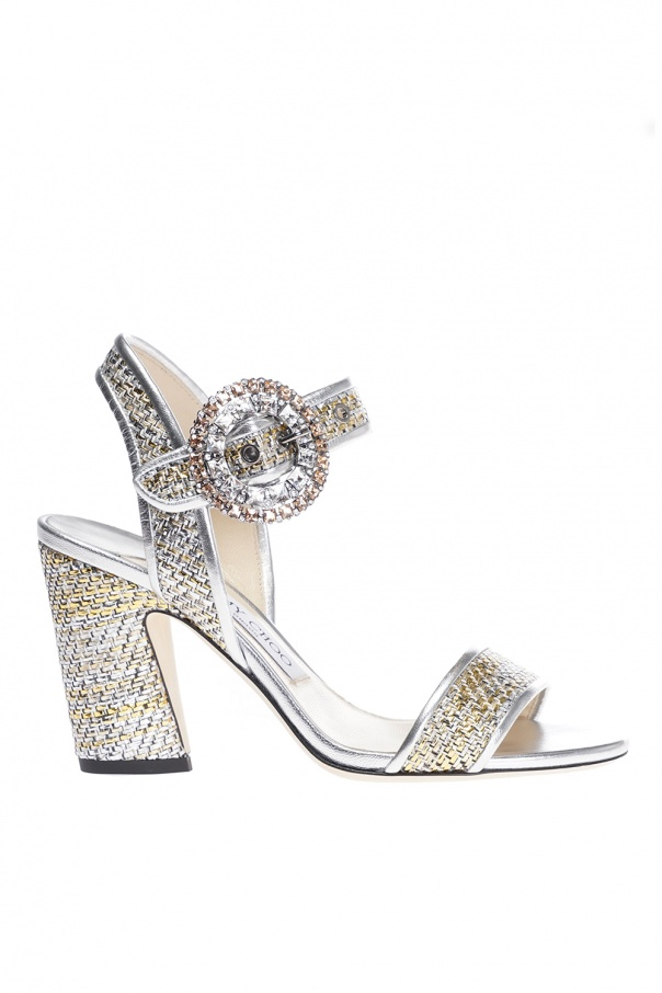 14ec942061b9 Mischa 85  heeled sandals Jimmy Choo - Vitkac shop online