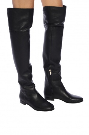 Leather mitty' knee high boots od Jimmy Choo