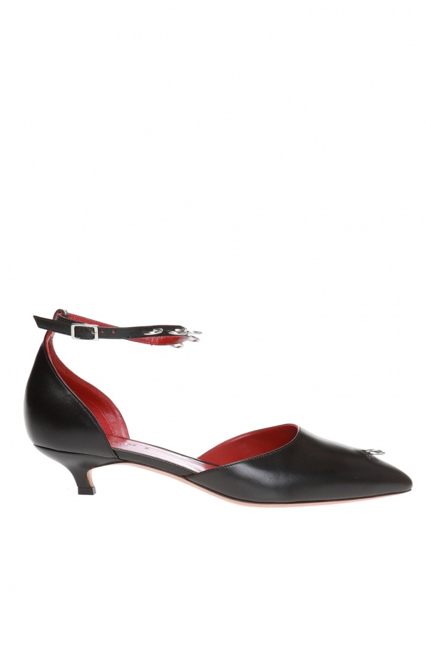 Marni Embellished pumps with metalware