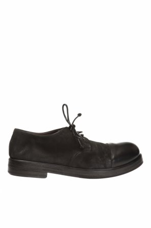 Suede shoes with worn effect od Marsell