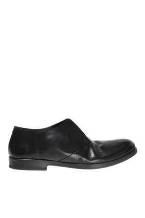 Leather slip-on sneakers od Marsell