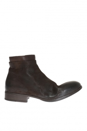Suede ankle boots od Marsell