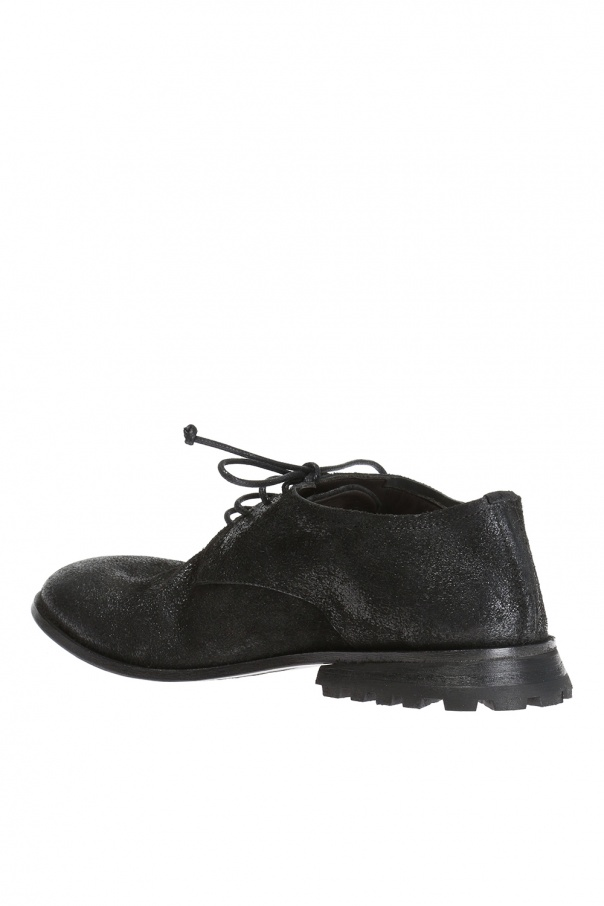 Lace-up suede shoes od Marsell