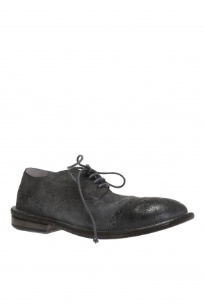 Perforated suede shoes od Marsell