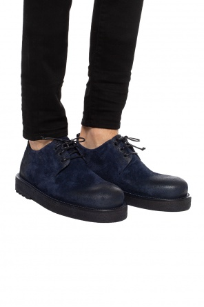 Lace-up shoes with worn effect od Marsell