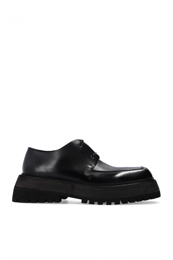 Marsell Leather platform boots