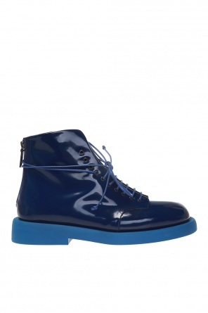Patent leather ankle boots od Marsell