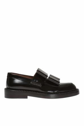 Leather loafers od Marni
