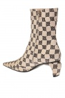 MISBHV Heeled ankle boots with logo