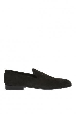 Suede loafers od Billionaire