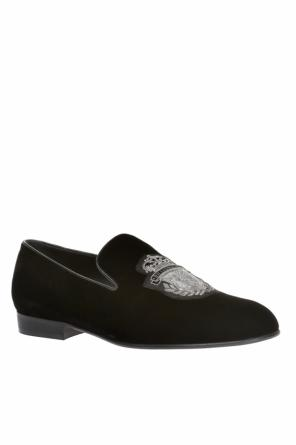 Velvet loafers od Billionaire