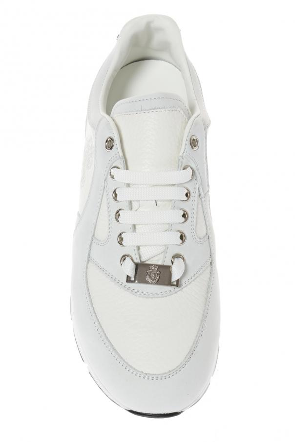 'eric' leather sneakers od Billionaire