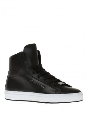 Leather high-top sneakers od Philipp Plein