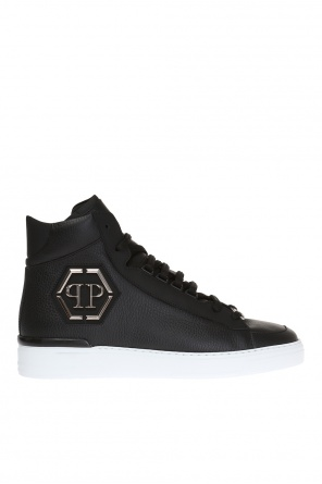 'phil' high-top sneakers od Philipp Plein