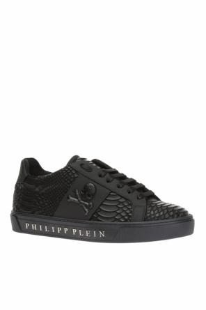 Crocodile-effect sneakers od Philipp Plein