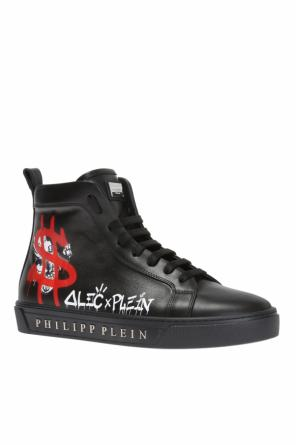 Printed high-top sneakers od Philipp Plein