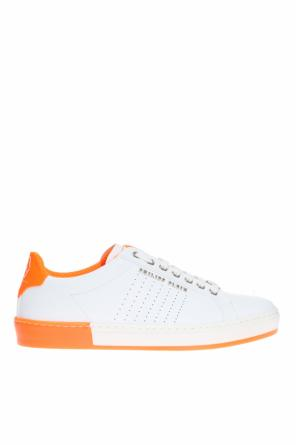 Sneakers with neon inserts od Philipp Plein