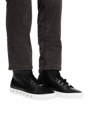 'good time' high-top sneakers od Philipp Plein