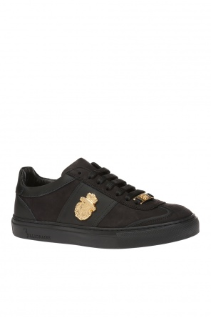 'airton' sneakers with metal logo od Billionaire