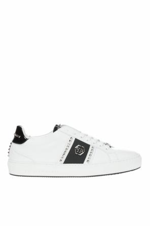 'studs and logo' sneakers od Philipp Plein