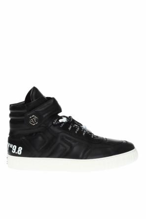 High ankle sport shoes with a logo od Philipp Plein