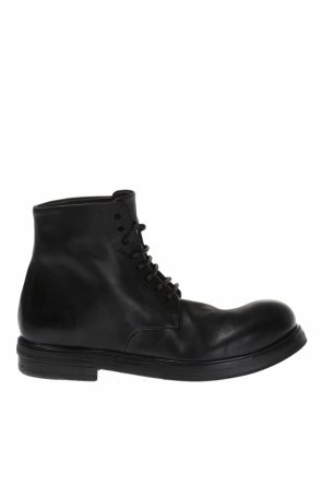 Lace-up leather ankle boots od Marsell
