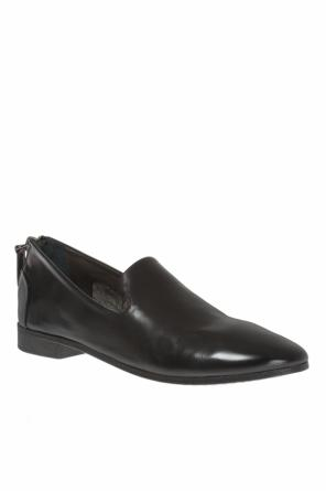 Zipped leather shoes od Marsell