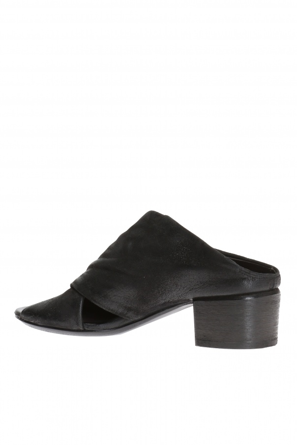 Suede mules od Marsell