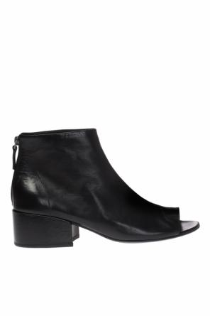Heeled ankle boots with cut-out od Marsell