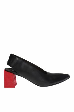 'stuzzico' cut-out heel shoes od Marsell
