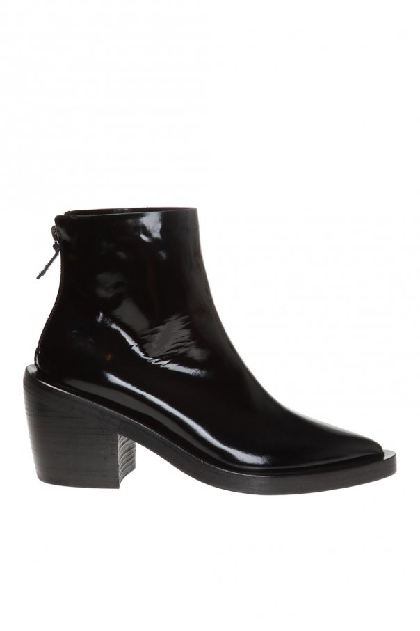 Marsell Heeled leather ankle boots