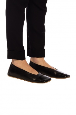 Leather ballet flats od Marsell