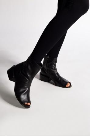 'sbucciata' open-toe boots od Marsell