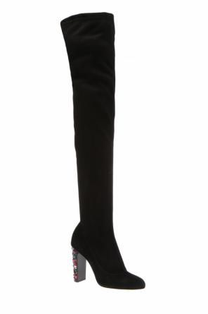 'maine' over-the-knee boots od Jimmy Choo