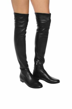 'myren' leather over-the-knee boots od Jimmy Choo
