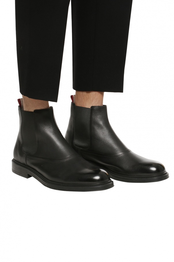 Leather ankle boots od Bally
