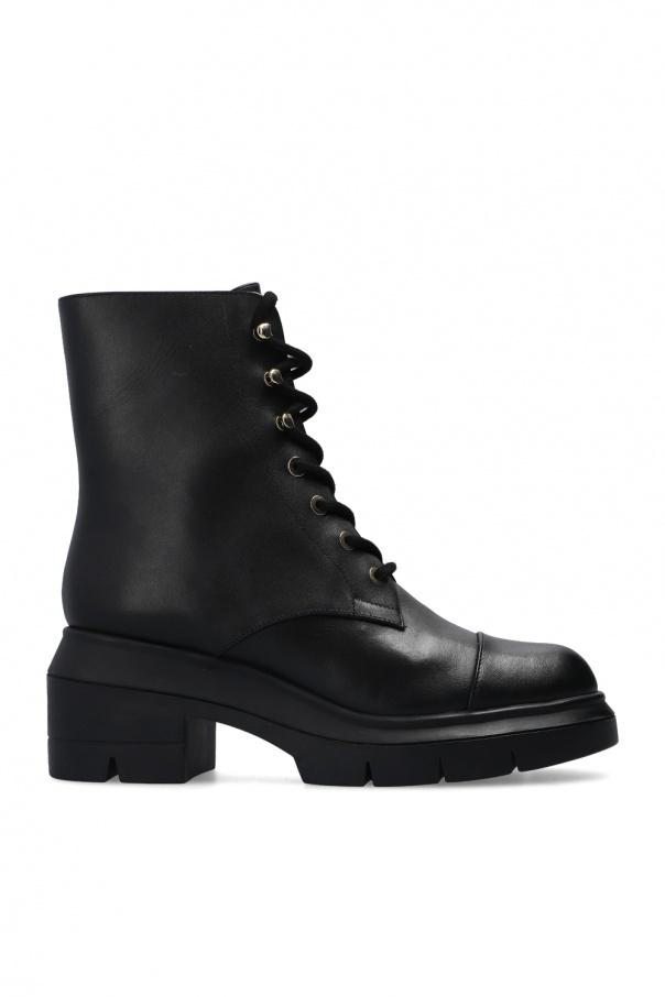 Stuart Weitzman 'Nisha' heeled ankle boots